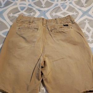 Aeropostale Shorts - Aeropostale Mens Khaki Dhorts